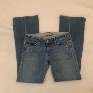 paige laurel canyon bootcut jeans